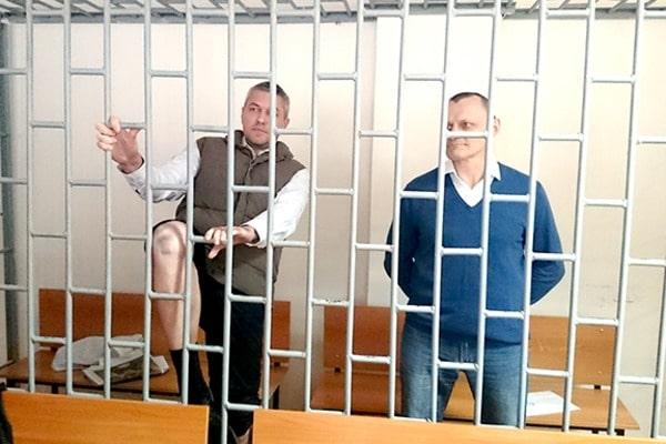 Суд в Чечне признал виновными украинцев Карпюка и Клиха