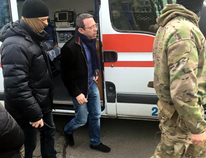 Корбана перевезли из госпиталя СБУ в Киевское бюро судмедэкспертизы
