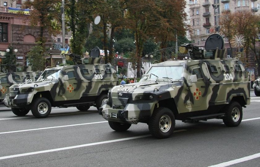 Патрулирование Киева усилят бронированными автомобилями