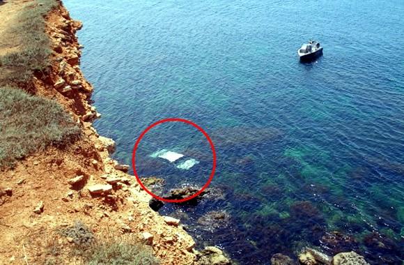 В Севастополе женщина на автомобиле упала с обрыва в море