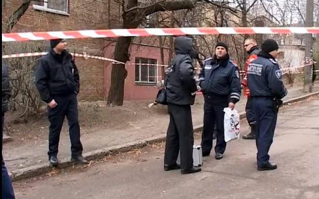 В Сети появилось видео с места взрыва в Киеве