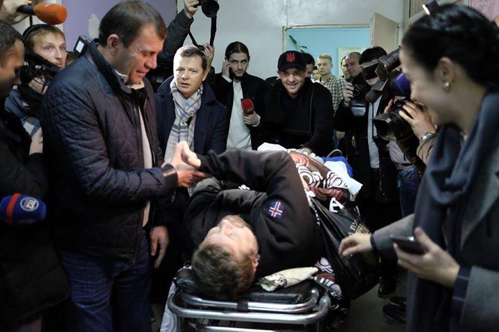 Мосийчука освободили из-под стражи и увезли на операцию