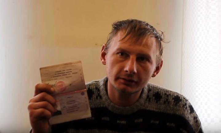 На Донбассе СБУ задержала россиянина-убийцу