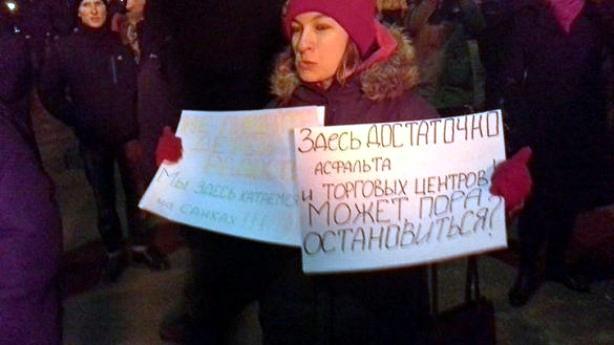 Новые столкновения на стройке в Осокорках: пострадал милиционер