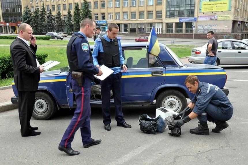 Мэру Николаева прислали голову собаки и гранату