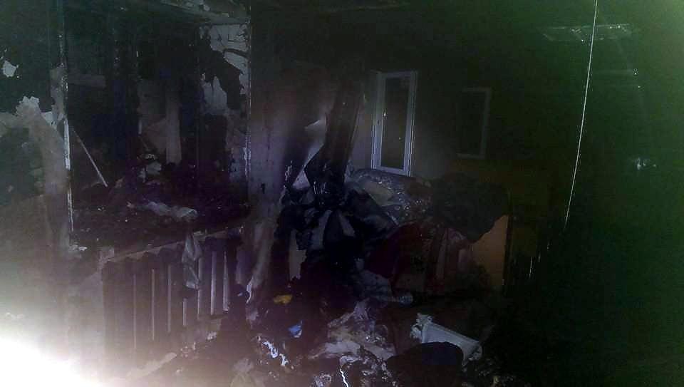 В Мариуполе дотла сгорел офис волонтеров, собиравших помощь для АТО
