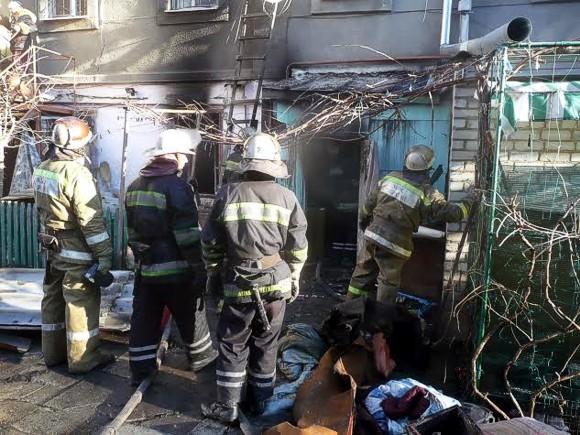 Трагедия в Одессе: на пожаре погибла 5-летняя девочка