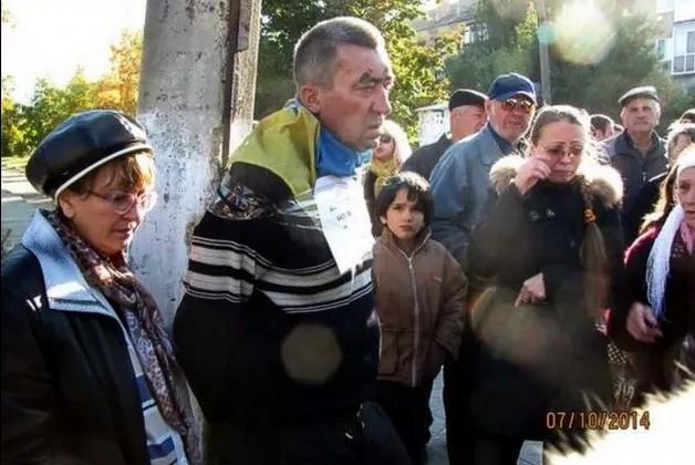Боевики «ДНР» привязали человека к столбу