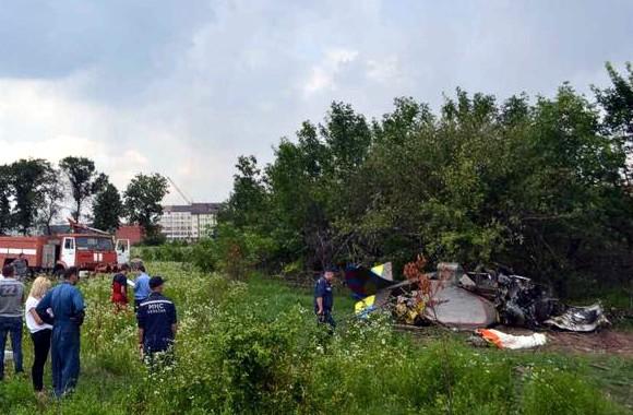 Под Киевом разбился самолет: пилот погиб