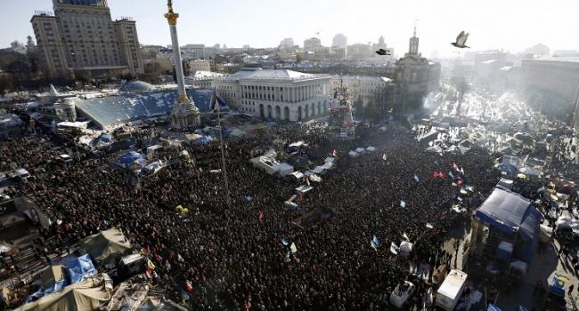 Киев отреагировал напризнание Майдана госпереворотом