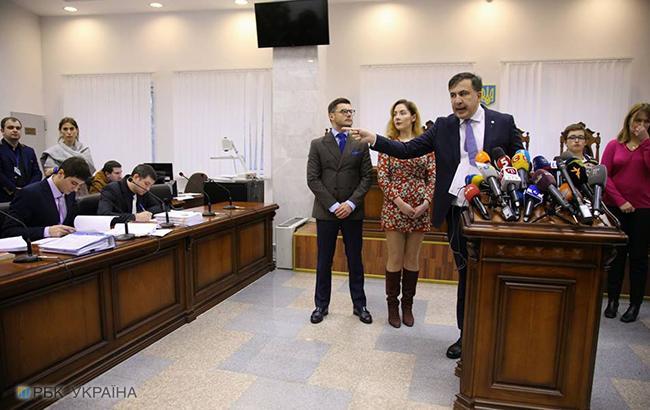 Апелляционный суд украинской столицы запретил Саакашвили уходить издома ночью