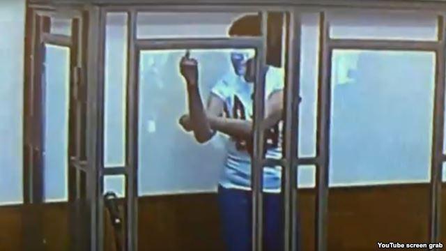 Савченко показала свое последнее слово