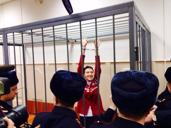 Савченко просит врачей разработать для нее специальную диету