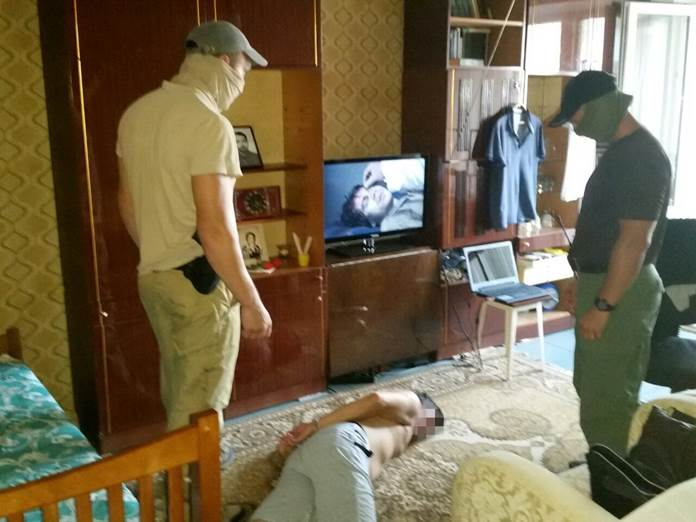 В Одессе сотрудники СБУ задержали двух сепаратистов
