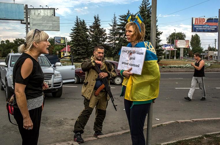 В Донецке устроили суд Линча над украинской патриоткой