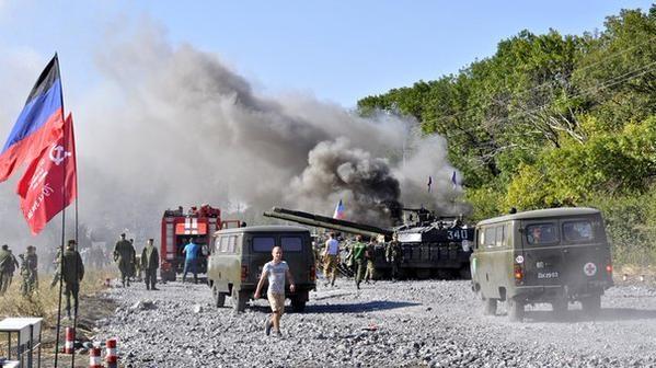 Под Торезом в танковом биатлоне погибла дочь главаря боевиков