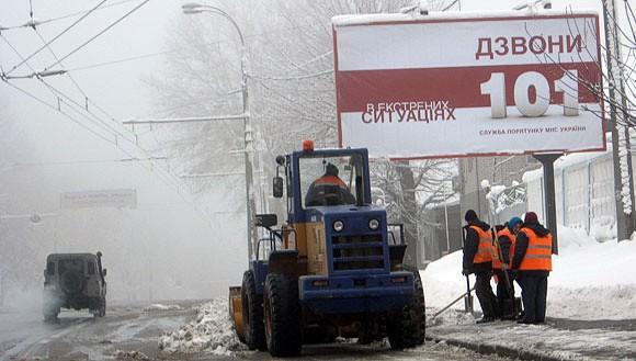 В Киеве объявлена чрезвычайная ситуация. В город вошли бронетранспортеры
