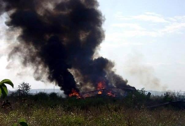 Террористы сбили вертолет под Славянском