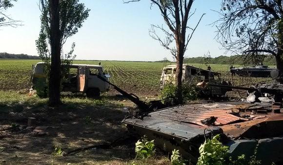 Под Волновахой силы АТО попали в засаду: Есть убитые и раненые
