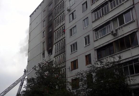 В многоэтажке Харькова произошел взрыв