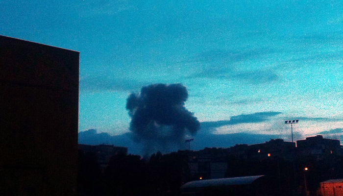 СМИ: В Донецке прогремел мощный взрыв