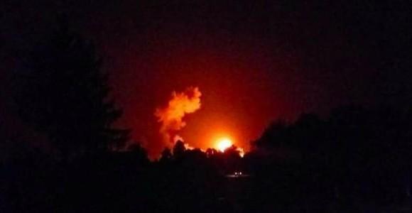 В Черниговской области взрываются склады боеприпасов