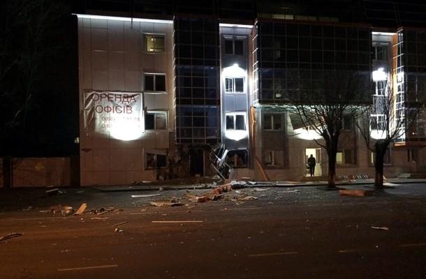 В Одессе взрывом уничтожен волонтерский пункт