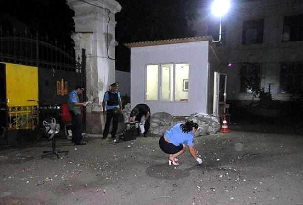 Взрыв в Одессе квалифицировали как умышленное повреждение имущества