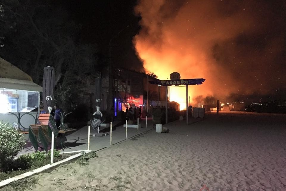 В Одессе случился взрыв в ночном клубе