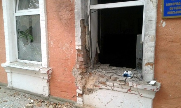 В Одесской области ночью подорвали здание военкомата