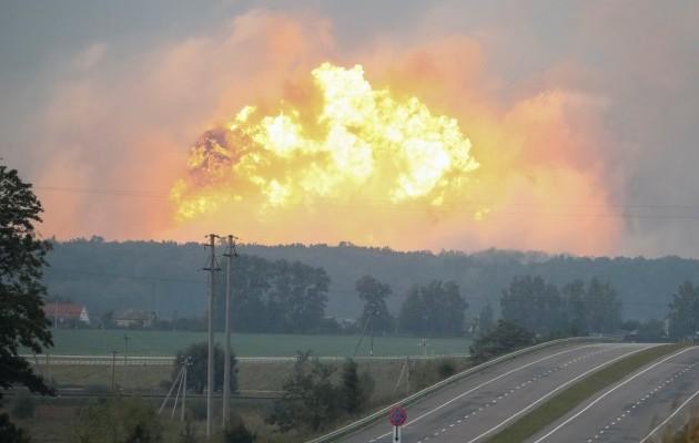 Генпрокуратура Украины квалифицировала пожар под Винницей как диверсию