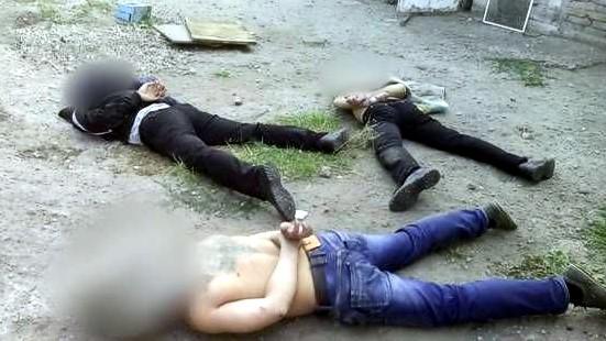 СБУ: В Мариуполе задержаны четверо боевиков батальона «Восток», готовивших теракты в городе