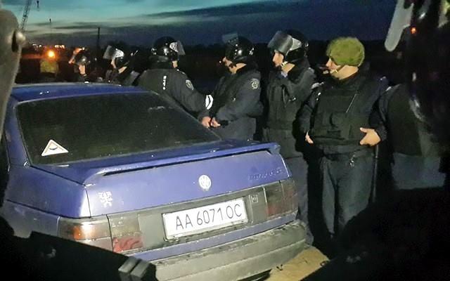 После стрельбы на месте застройки в Киеве задержаны 9 человек