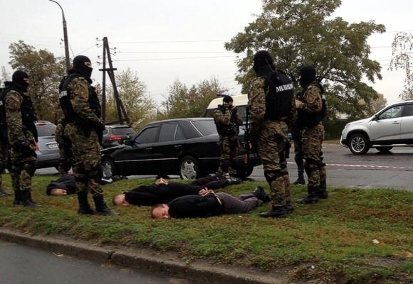 В Запорожье задержаны похитители днепропетровского бизнесмена
