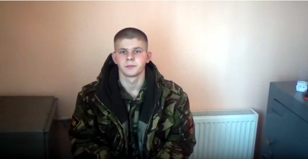 Опубликовано видео с заблудившимися в Украине российскими военными