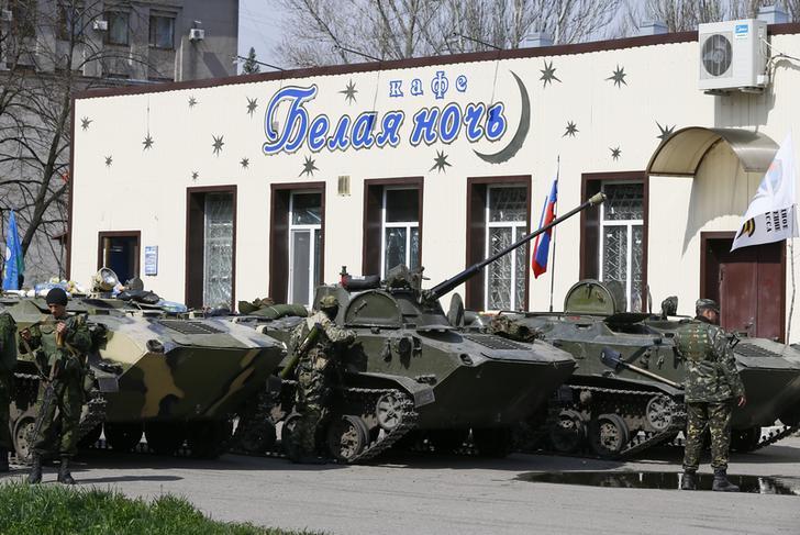 Минобороны подтвердило факт захвата бронетехники российскими террористами