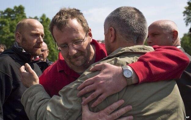 Захваченные в Славянске наблюдатели ОБСЕ освобождены