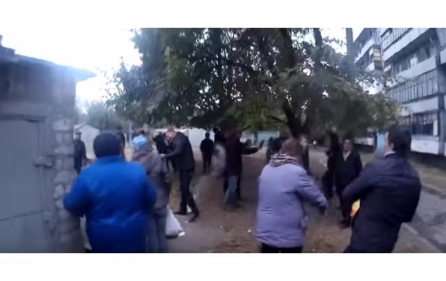 Кандидат в мэры Днепродзержинска открыл стрельбу по избирателям