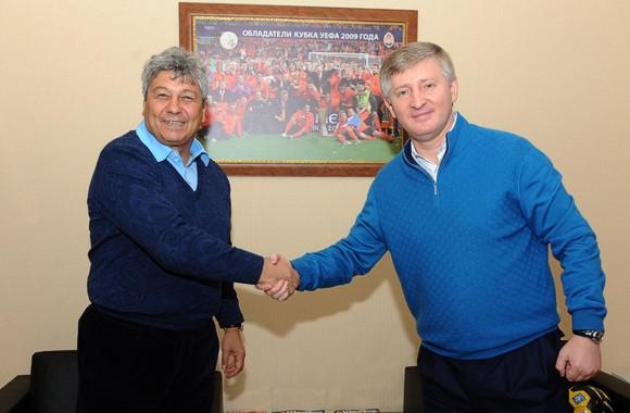 Мирча Луческу продлил контракт с донецким «Шахтером»