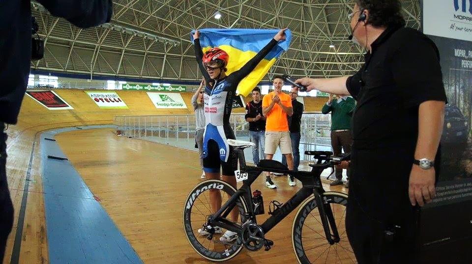 Елана Новикова после 24-х часовой гонки